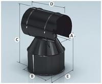 Оголовок-зонт AGNI 430/0,5мм