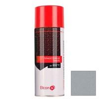 Термостойкая эмаль Elcon, серебристая, 270мл