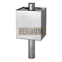 """Бак """"Комфорт"""" прямоугольный на трубе AISI 201 Ferrum"""