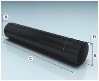 Труба AGNI Моно 430/0,8мм 1м