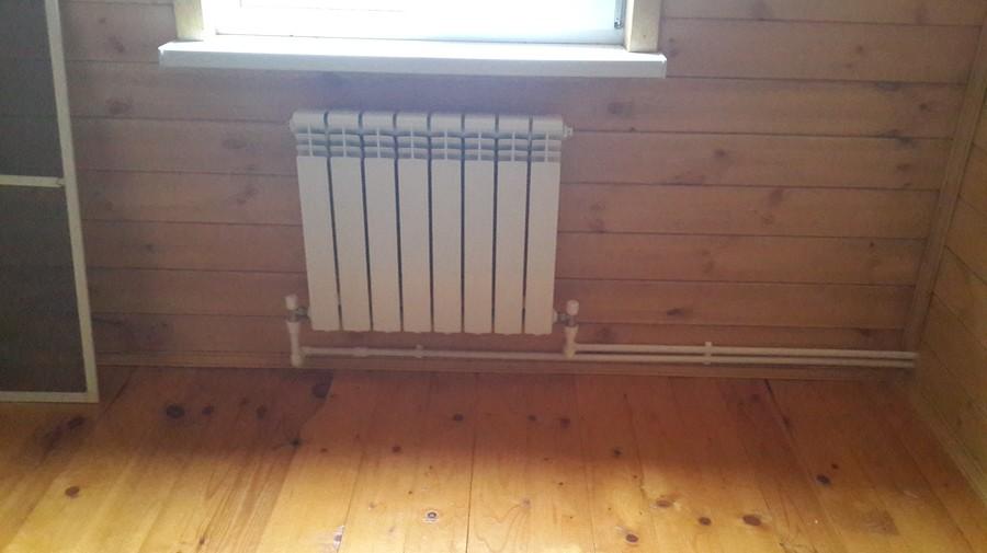 Монтаж радиаторов отопления с нижним подключением своими руками 46