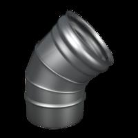 Отвод Ferrum Моно 430/0,8мм 135
