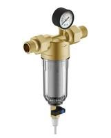 """Фильтр Гейзер Бастион 112 с манометром для холодной воды 3/4"""""""
