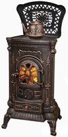 Чугунная печь-камин Eurokom Ambra