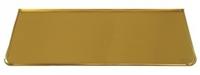 Лист предтопочный латунь 400х1000 (фин)