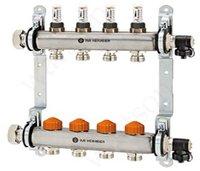 HEIMEIER Распределительный блок Dynacon Eclipse с клапанной вставкой и расходомерами