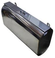 """Бак """"Комфорт"""" для водяного контура горизонтальный элипс AISI 201 Ferrum"""