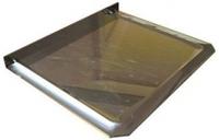 Предтопочный лист нерж 1000х600 0,5 мм