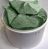 Камни Жадеит колотый 10 кг, средняя фракция
