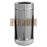Труба-сэндвич Ferrum 0,5 м 430/0,5мм+Оц