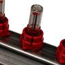 STOUT Коллектор из нержавеющей стали с расходомерами