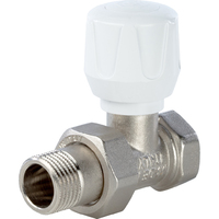 Клапан ручной терморегулирующий, прямой