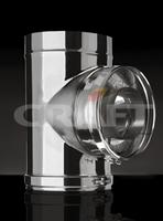 Тройник-сэндвич Craft 90 304/0,8мм теплоизоляция 50мм